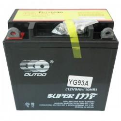 Bateria de Gel 12V 9,5Ah - YG93AOUT