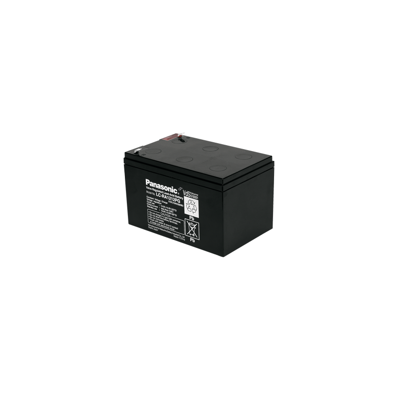 Bateria Panasonic 12V 12Ah Terminal F1