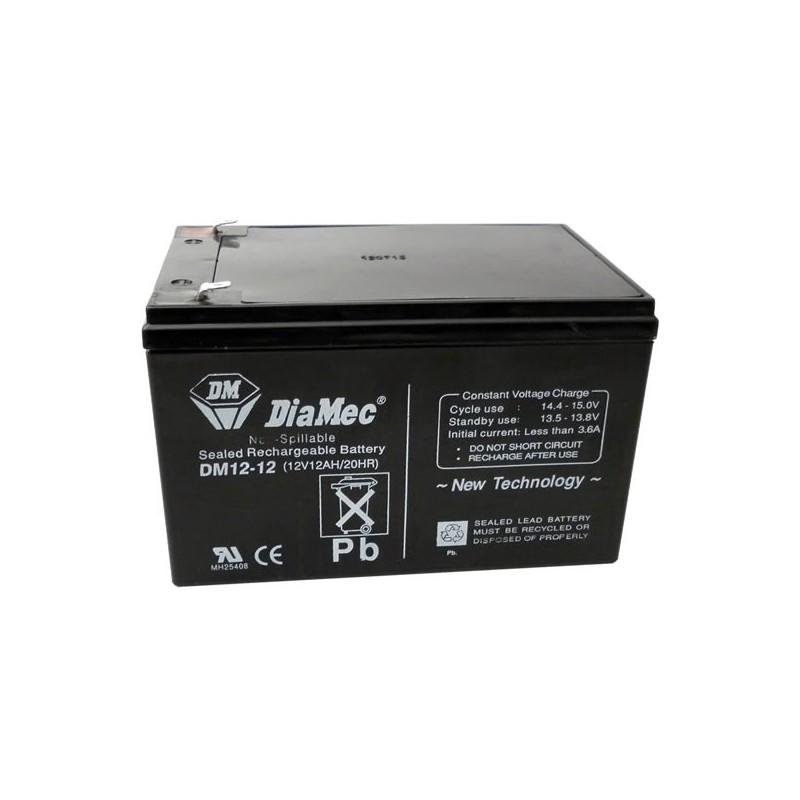 Bateria Diamec 12V 12Ah Terminal F2