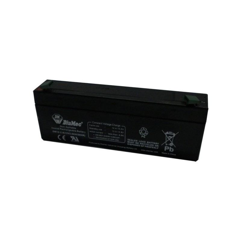 Bateria Diamec 12V 2,2Ah Terminal F1