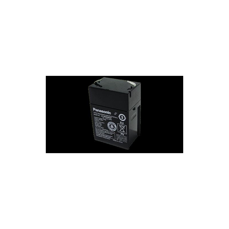 Bateria Panasonic 6V 4,5Ah Terminal F1