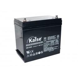 Bateria Kaise 12V 55Ah Cíclica Solar Terminal F11