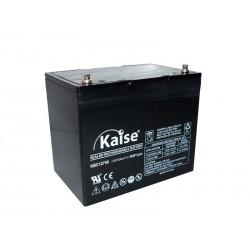 Bateria Kaise 12V 75Ah Cíclica Solar Terminal F12