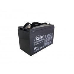 Bateria Kaise 12V 100Ah Cíclica Solar Terminal F12