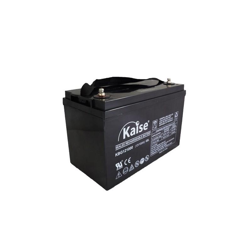 Bateria Kaise Gel 12V 100Ah Terminal M8