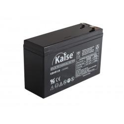 Bateria Kaise High Rate 12V 6Ah Terminal F1+F2