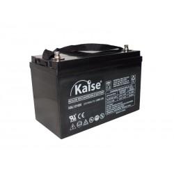 Bateria Kaise Long Life 12V 100Ah Terminal F12