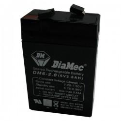 Bateria Diamec 6V 2,8Ah Terminal F1