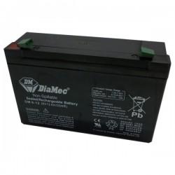 Bateria Diamec 6V 12Ah Terminal F1