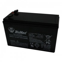 Bateria Diamec 12V 7,2Ah Terminal F1