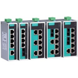 Switch Ethernet EDS-208A-M-SC-T 8-port unmanaged Ethernet switches