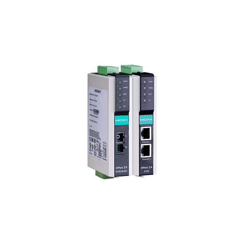 Moxa Servidor Portas Série NPort IA-5150-M-SC 1-port RS-232/422/485