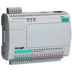 Moxa ioLogik E2214 - Active Ethernet I/O Server