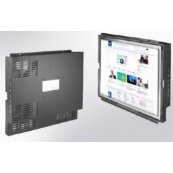 "Open frame, 15"" LCD monitor, 1024 x 768, 250 nits VGA input, resistive touch"