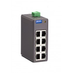 Switch Ethernet Moxa EDS-208 - 8 x 10/100BaseT(X)