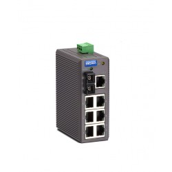 Switch Ethernet EDS-208-M-SC - 7 x 10/100BaseT(X), 1 multi mode
