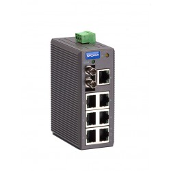 Switch Ethernet EDS-208-M-ST - 7 x 10/100BaseT(X), 1 multi mode
