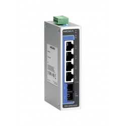Switch EDS-205A-M-SC - 4 10/100BastT(X) ports, 1 x 100BaseFX multi-mode, SC