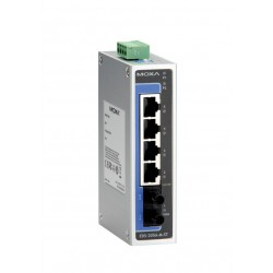 Switch EDS-205A-M-ST - 4 x 10/100BaseTX ports, 1 x 100BaseFX multi-mode, ST